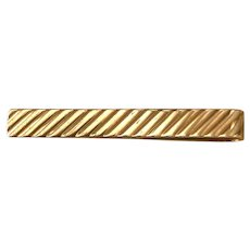 Vintage 14K Gold Cartier Tie Bar / Clasp