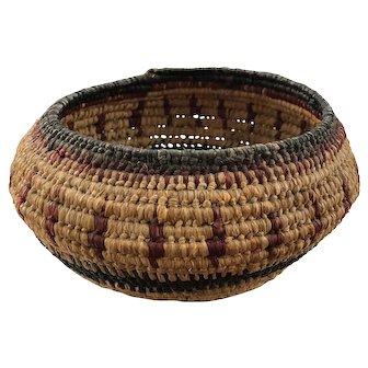 Native American Woven Basket c. 1920