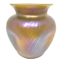 Loetz Glass Vase in Citron Phanomen Gre 7501