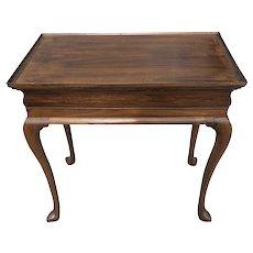 English George II Mahogany Tea Table