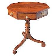 Nineteenth Century English Regency Mahogany Octagonal Table