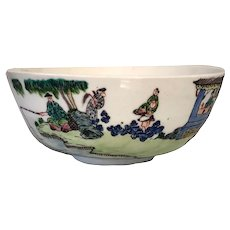 Chinese Famille Verte Bowl Daoguang 19th Century