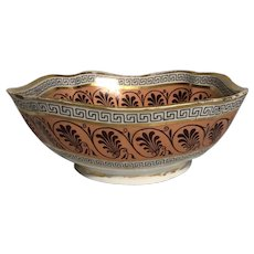 English Derby Porcelain Bowl c. 1820