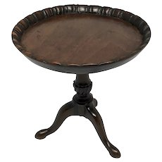 Rare English 18th Century George III Miniature Table