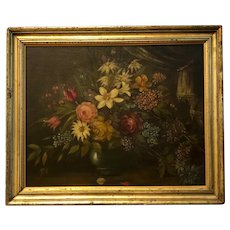 Nineteenth Century Still Life With Flowers
