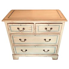 19th Century Small Painted Chest Of Drawers