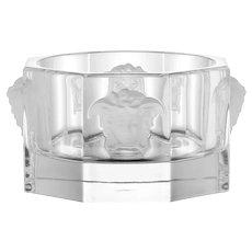 Versace Lead Crystal Medusa Wine Bottle Coaster