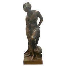 "Christophe Gabriel Allegrain ""Venus Au Bain"" Bronze"