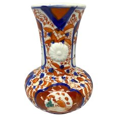 19th C. Japanese Meiji Imari Porcelain Vase