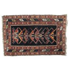 Small Antique Persian Carpet Circa 1900