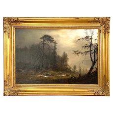 Amaldus Nielsen 1869, Norwegian Landscape Painting