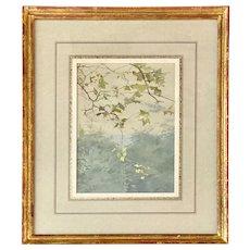 Fidelia Bridges, American Watercolor on Paper