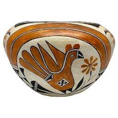 Jessie Garcia Native American Pottery Acoma Bowl
