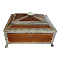 19th c. Anglo Indian Sewing Box
