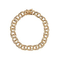 Vintage 14K Gold 8″ Charm Bracelet