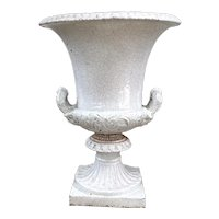 Vintage Italian Terra Cotta Campagne Urn