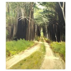 Oil on Panel, Susan Hambleton, Impressionist Landscape