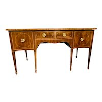 18th C English George III Mahogany Sideboard