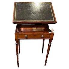 English Georgian Mahogany Reading Desk / Table c. 1800
