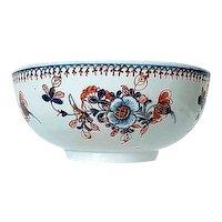 Liverpool England Penningtons Porcelain Bowl C 1770