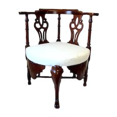 18th Century Scottish Corner Chair C 1750