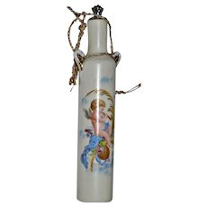 Ricksecker New York Cherub Perfume Bottle Victorian