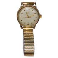 Omega Mans Wristwatch 14 kt  Gold