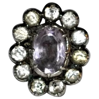 Georgian/Mid Century BORGE Danish Silver Ring