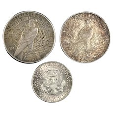 American Liberty Silver Dollars & Kennedy Coin Collection