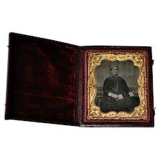 19th century   Daguerrotype  Case and Photo  1860's