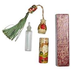Art Deco Perfume Bottle Chinoiserie