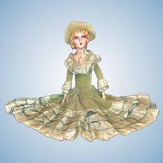 "1920's Boudoir Blonde Doll 28"""