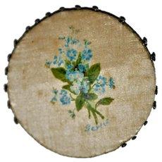 Georgian Silk Pinwheel Pin Holder