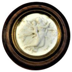 19th century Snuff Box Flora Cupid