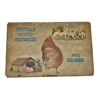 Vintage Whitmans Picture Stationery Packgage for Children