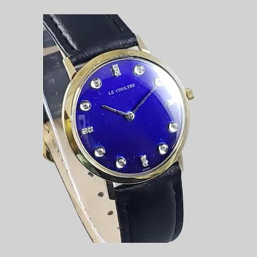 LeCoultre 14K Yellow Gold (1950)
