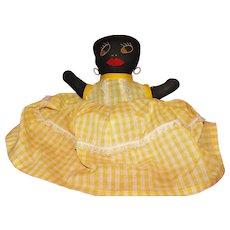 Black Mammy Doll Shelf Sitter Americana