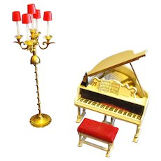 Ideal Petite Princess Fantasy Furniture Piano Music Room