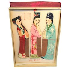 Asian Chinese Combs in Box Mint Made for Royal Use