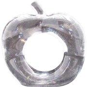 Bijan Acrylic Lucite Napkin Fruit Napkin Ring Holder Apples