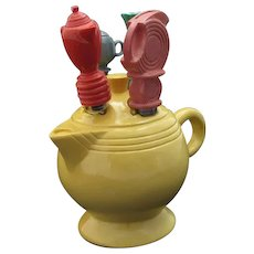 Fiestaware Yellow Teapot Canape Cheese Spreader Knife Fiesta by Copco Homer Laughlin