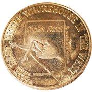 Chicken Ranch Whorehouse Token Coin West Nevada Naughty