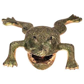 Vintage Frog Cast Iron Bottle Opener