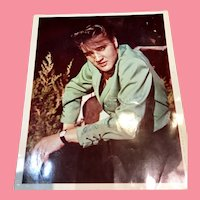 Elvis Presley Vintage Moss Photo