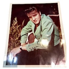 Elvis Presley Vintage Moss Photo