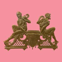 bronze Figural Building Mount from Taft Hotel, NYC