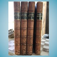 Antique set of Cassell's Natural History Books in 4 Volumes
