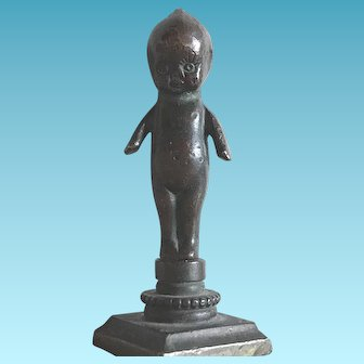 Antique Bronze Kewpie Doll Wax Seal