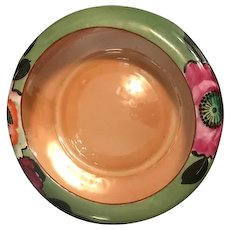 Antique Ikebana Hand Painted Bowl