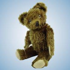 """1930 17"""" American Knickerbocker Teddy Bear. Hoof"""